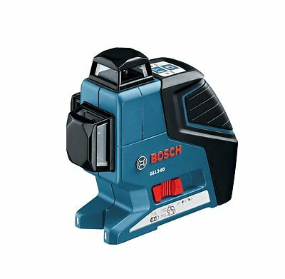 NEW Bosch GLL3-80P 360 Degree Vertical and Horizontal Line Laser
