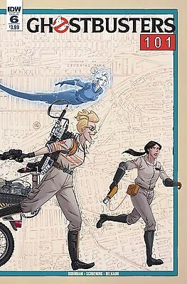 GHOSTBUSTERS 101 #6 (OF 6) CVR A SCHOENING IDW 1st Print 30/08/17 NM