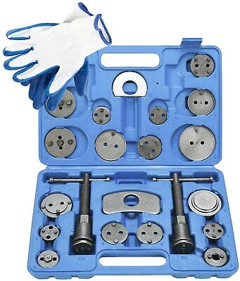 Universal 22pc Disc Brake Caliper Piston Rewind Tool Kit Auto Wind Back Car CA