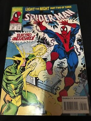 Spider-Man #39 1St Print Marvel Comics (1993) Electro Light The Night Pt 2 Of 3