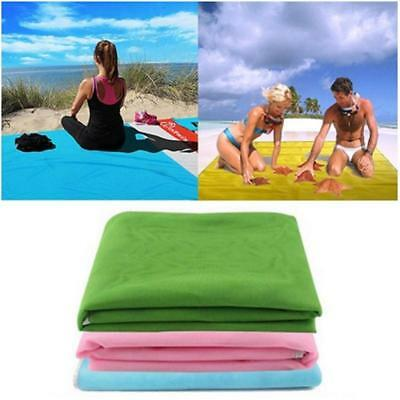 Foldable Large Picnic Blanket Sand Beach Mat with Waterproof Backing Camping Rug