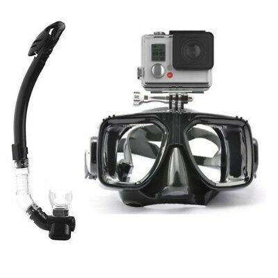 CamGo Diving Mask for GoPro with Purge Snorkel - Sold From Australia