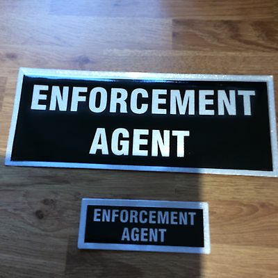 Set of Enforcement Agent badges