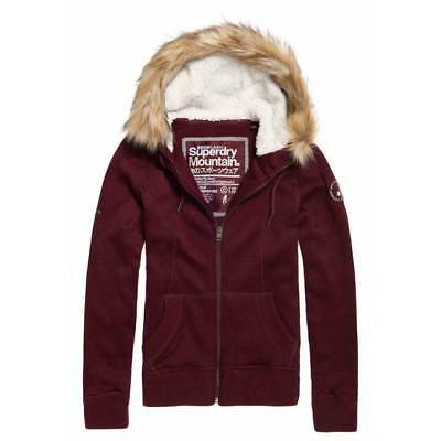Sweat Superdry storm fur zip buffalo