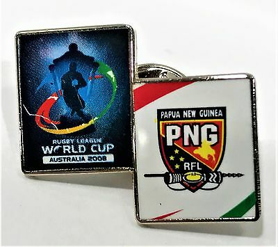 Rugby League World Cup Australia 2008 Papua New Guinea Pin Collect #1011