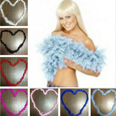 1pcs Feather Boa Wedding Party Dressup Home Decor Craft Costume Fluffy Flower
