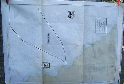 NOAA Nautical Chart Map #18700 CA Point Conception to Point Sur June 1978