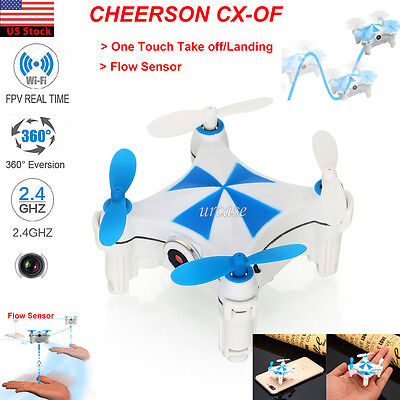 Cheerson CX-OF Wifi FPV Optical Flow Dance Mode Mini Selfie RC Drones Helicopter