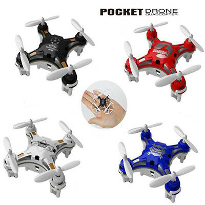 FQ777-124 Quadcopter Pocket Drone Mini Micro RC UFO 6-Axis RTF Fly AU Toys 4CH m