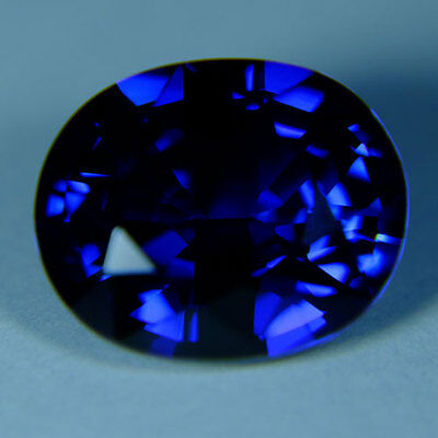 8.55ct.RAVISHING BLUE SAPPHIRE OVAL LOOSE GEMSTONE