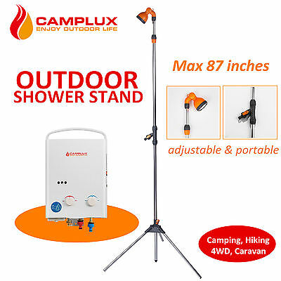 Camplux CL6102 Portable Outdoor Garden Shower with Tripod Stand