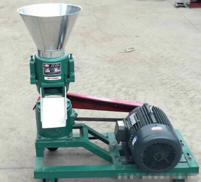 3KW 120 Model Pellet Mill Machine, Feed Pellet Mill Machine With Motor A