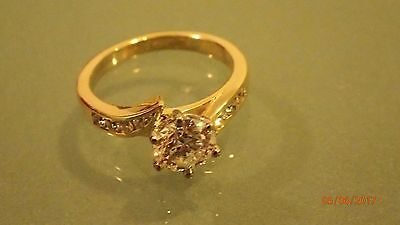 1.2ct, 18k gold band  Engagement Ring - $20,000 value