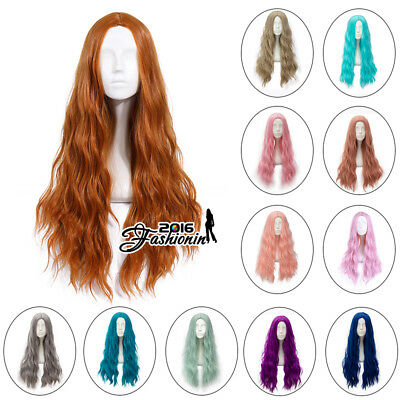 Lolita 78CM Heat Resistant Long Curly Synthetic Hair Party Cosplay Wig+Wig Cap
