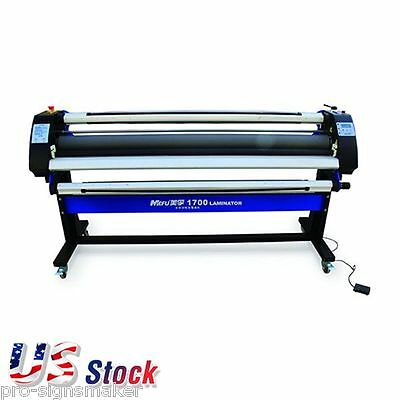 "USA Stock 67"" Economical Full-auto Cold Laminator Wide Format Single-Side"