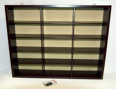 BL55 1/43 O Scale Display Case 15 Spaces Ideal for 1/43 Car Collection
