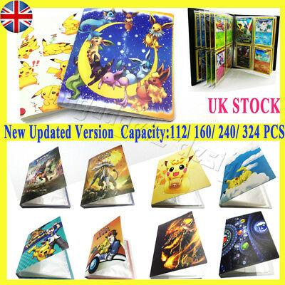 160-324PCS Ultra Pro Pokemon Cards Portfolio Album Book Collector Holder Pikachu