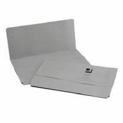 Q-Connect Foolscap Grey Document Wallet Pack of 50 KF23013 [KF23013]