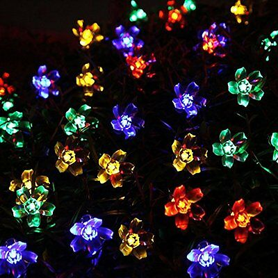 solar lichterkette 20 led gartenbeleuchtung partybeleuchtung led kette bunt eur 3 99 picclick de. Black Bedroom Furniture Sets. Home Design Ideas