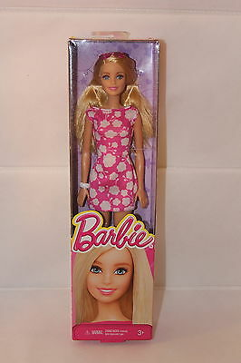 Barbie Doll You Can Be Anything,Pink Dress & White Flowers With Blonde Hair