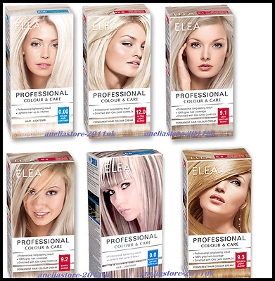Hair Lightener Bleaching Coloring Kit Powder Cream Professional Range Tint BLOND