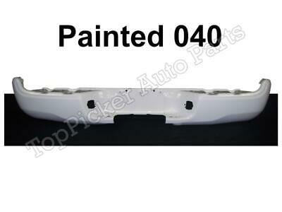 Painted 040-Super White Rear Step Bumper Face Bar For 2005-2015 Toyota Tacoma