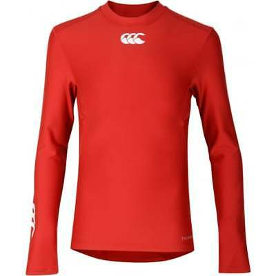 Canterbury unisex Base Layer Thermoreg Kids L//S T-Shirt Top Tee Sports Rugby