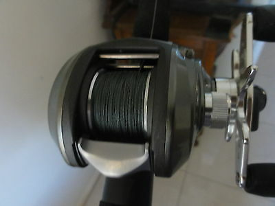 Abu Garcia Orra Sx Baitcast Reel With Braid Plus Abu Garcia Muscle Tip Rod