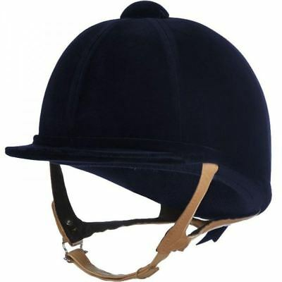 Charles Owen ShowJumper XP Suede Helmet PAS015 Horse Riding Jumping Competition