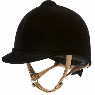 Charles Owen Fian Hat Equestrian Horse Riding Safety Hat Helmet Competition