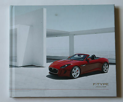 JAGUAR F-TYPE, S, V8S Paris 2012 Launch Press catalogue kit Presse Katalog CD