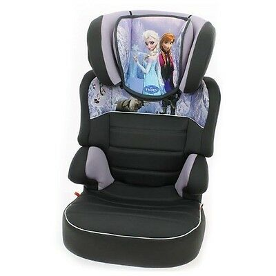 Nania Befix SP Car Seat Group 2-3 Booster and Back in Frozen NEW