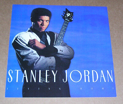 Stanley Jordan Flying Home Poster Double Sided Flat Square 12x12