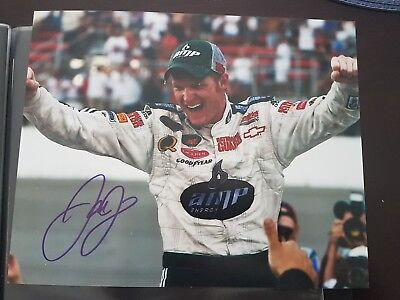 Dale Earnhardt Jr Signed 8x10 Photo