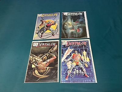 Marvel Comics Deathlok Mini Series 1-4 Complete NM