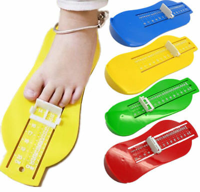 Infan Baby Size Measure Tool Ruler Child  Foot Device Toddler Shoe Kit
