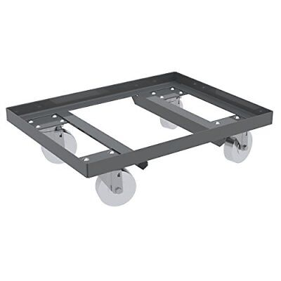 Akro-Mils RU854SS2436 Open Angle Structure Lips Up Powder Coated Steel Dolly ...