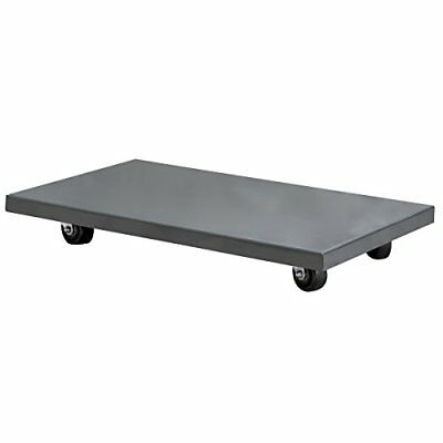 Akro-Mils RD844HR1830 Solid Deck Lips Down Powder Coated Steel Dolly 18-Inch ...