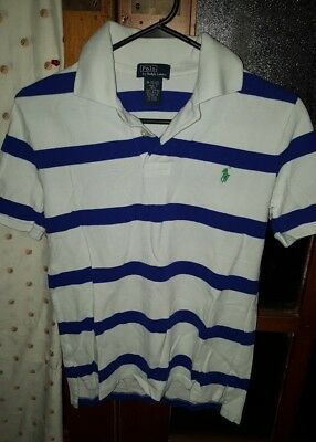 ** RALPH LAUREN boys polo top -  Size 10/12 **