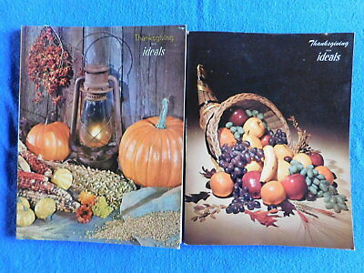 Lot of 2 Thanksgiving Issues of Ideals Magazine September 1963 & 1966