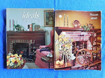 Lot of 2 Fireside Issues of Ideals Magazine January 1965 & January 1978