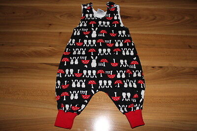 Handmade Mibs girls TOADSTOOL romper outfit 6-9 months *I'll combine postage