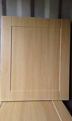 Shaker Light Oak Kitchen Cupboard Doors and drawers to fit most types of Units