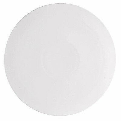 "CAC China PP-2 Pizza Plate, 14"" Round Super White 12 CT"