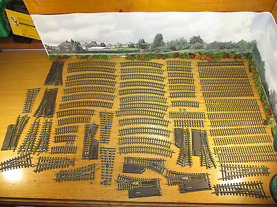 9Fp Lot Of 66 Hornby Dublo Two Rail Track