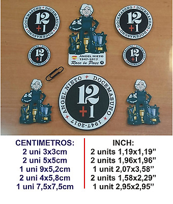 Angel Nieto 12+1 2017 (Kit 2) Sticker Vinilo Pegatina Decal Vinyl Autocollant