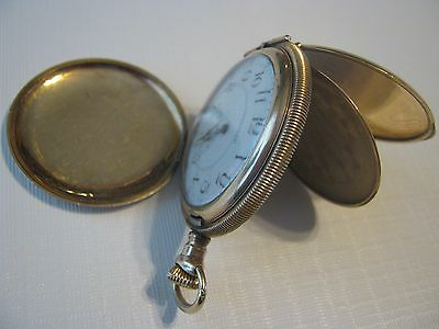 Antique A.W.W. Waltham Massachusetts Gold Filled 1893 Pocket Watch