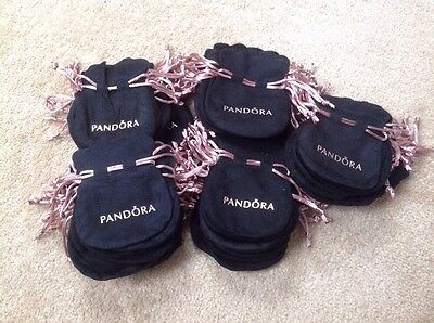 100 X Pandora Gift Pouch / Pouches Velvet ( Offer Price ) Gift Wrap