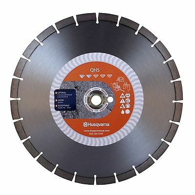 "New Husqvarna - 542773481 - 14"" Qh5 Cured Concrete Blade"