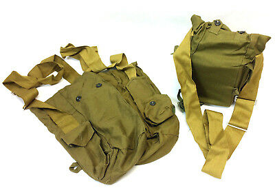 canvas bag from gas maks GP-5 sets gas mask bag soviet army military bag